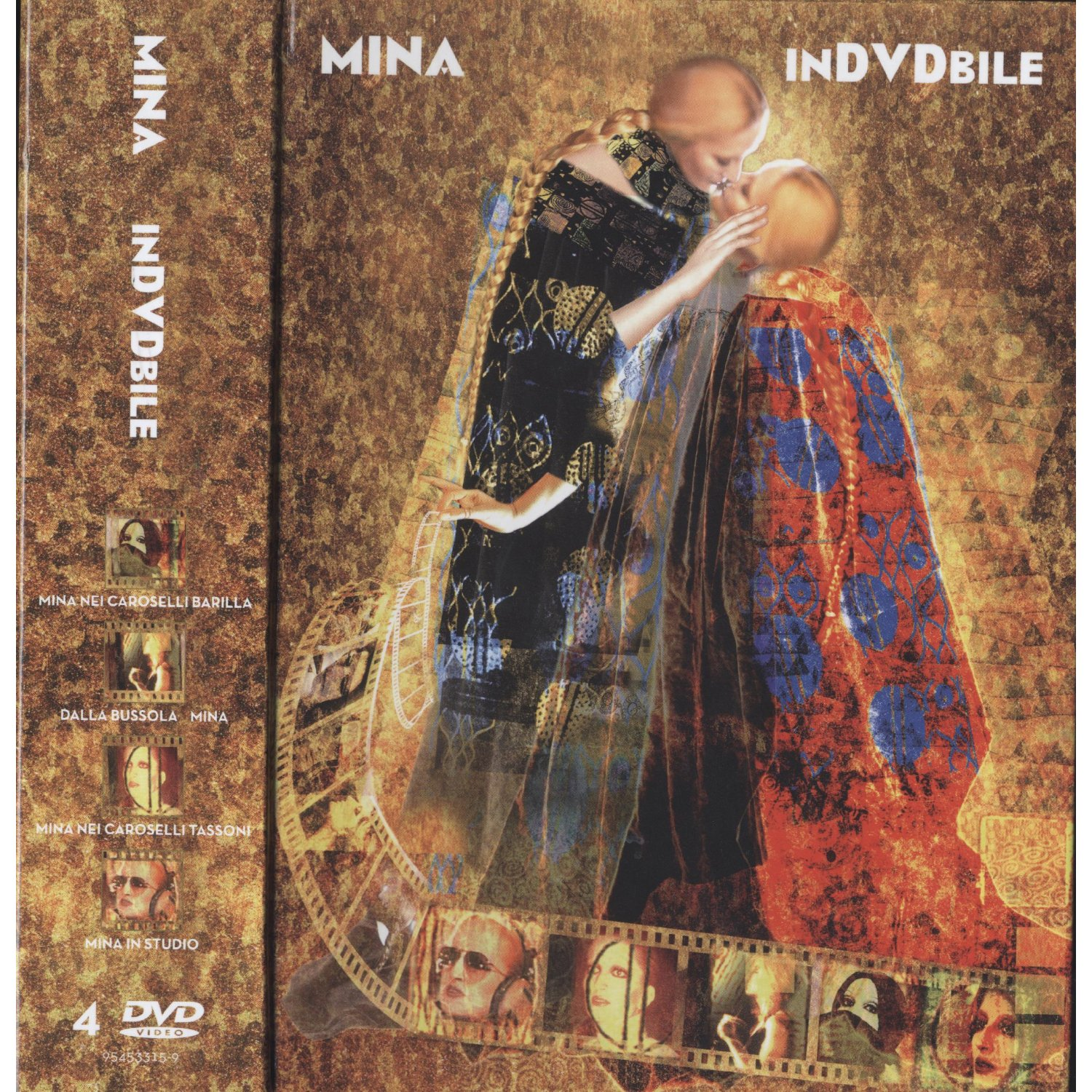 Mina InDVDbile dvd cover front