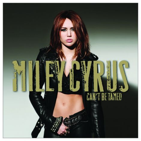 Miley Cyrus Can't be Tamed cd cover
