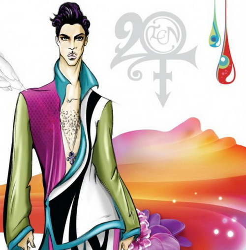 Prince 20Ten cd cover - copertina