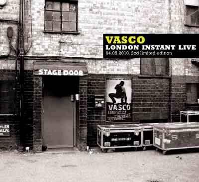 Vasco Instant Live copertina cd