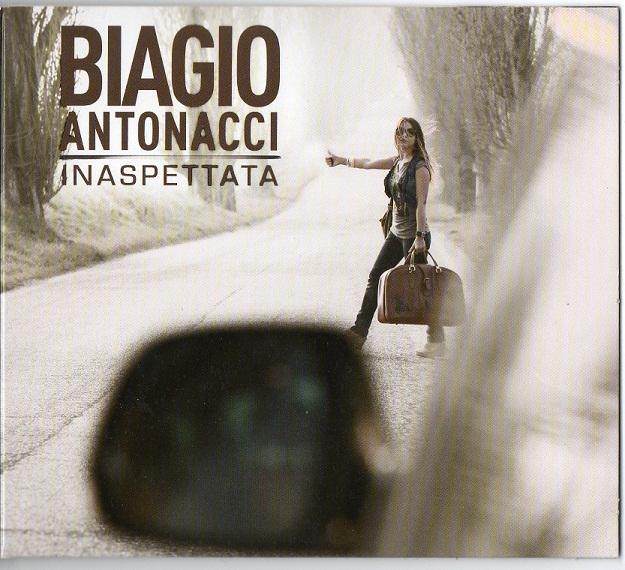 biagio antonacci inaspettata - copertina cd