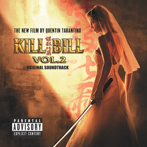 Kill Bill Volume 2 copertina cd