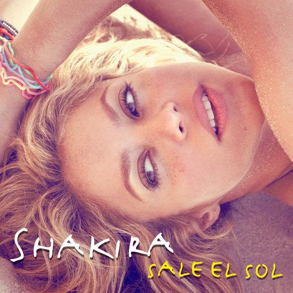 Shakira Sale el sol - copertina cd
