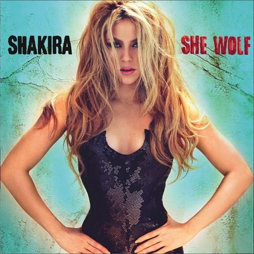 Shakira - She Wolf - copertina album