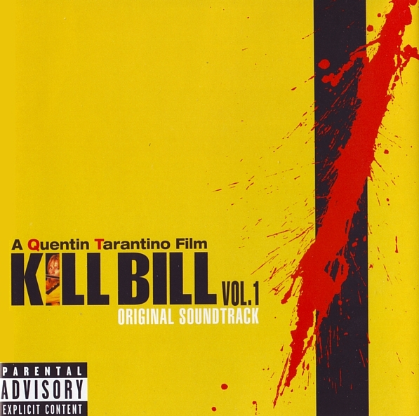 kill bill volume 1 copertina cd