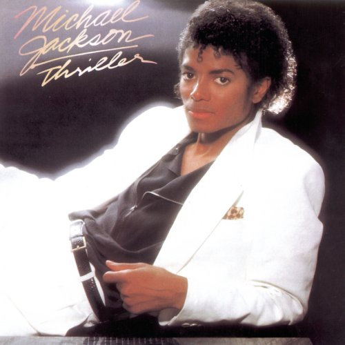 michael jackson thriller copertina cd