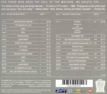 Propaganda a Secret Wish copertina cd retro