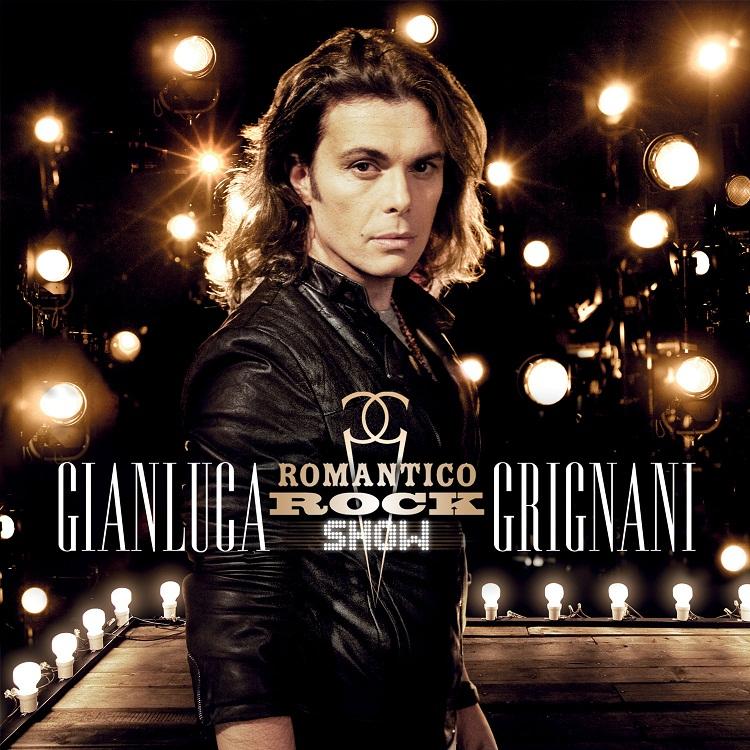 Gianluca Grignani - Romantico Rock Show - copertina cd