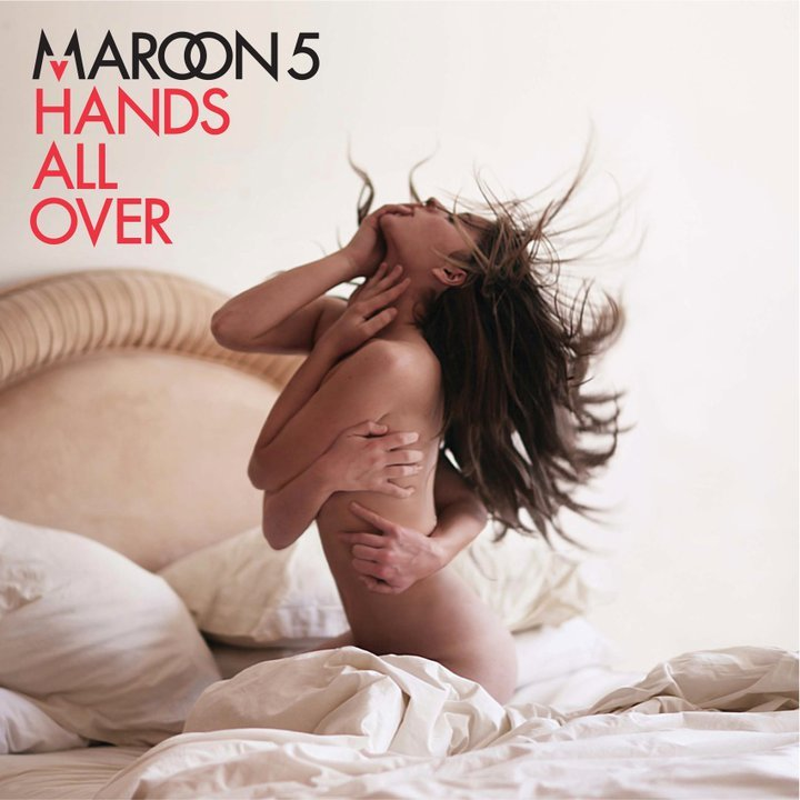 Maroon 5 - Hands All Over - copertina CD