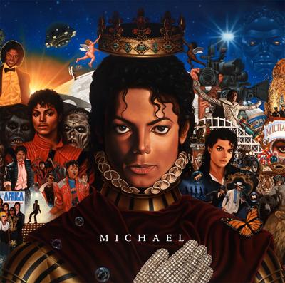 Michael Jackson - Michael - copertina Album