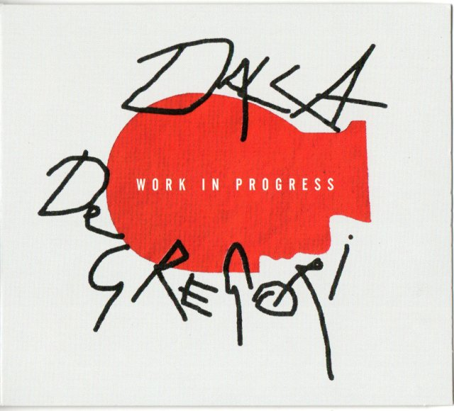 dalla de gregori work in progress copertina album