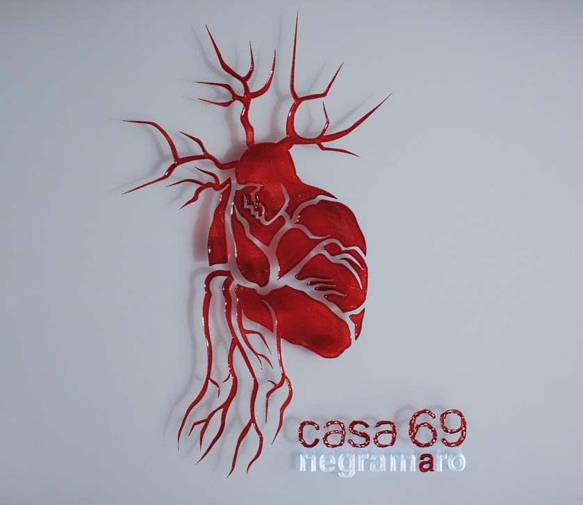 Negramaro Casa 69 copertina cd