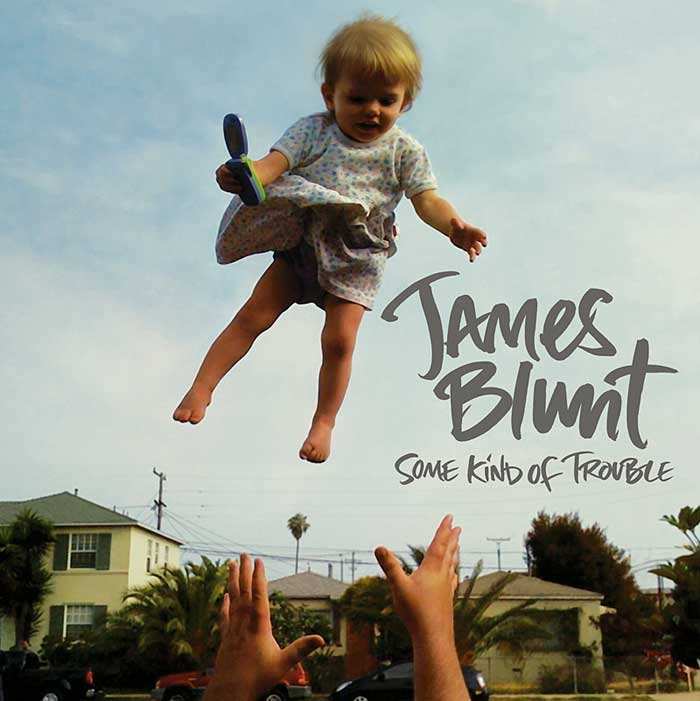 james blunt some kind of trouble copertina album