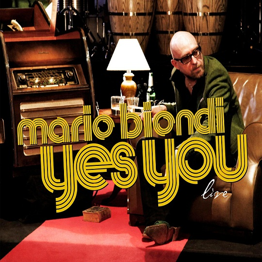 Mario Biondi - Yes You live - copertina album