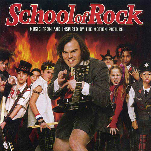 school of rock copertina cd