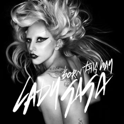 lady gaga born this way copertina singolo