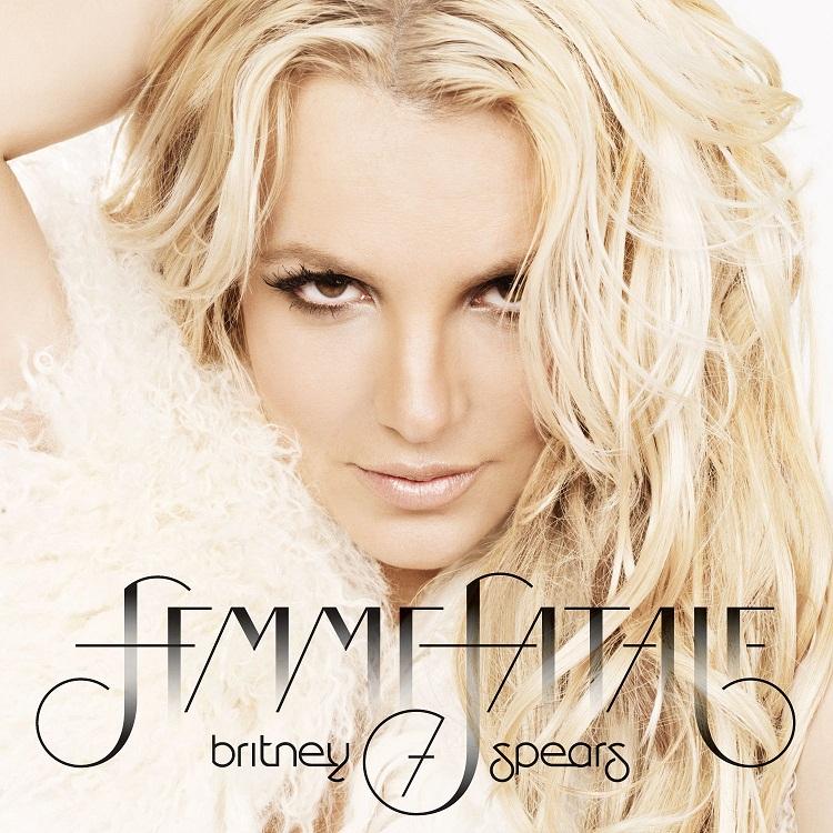 Britney Spears Femme Fatale Copertina album