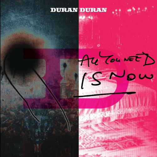all you need is now album copertina