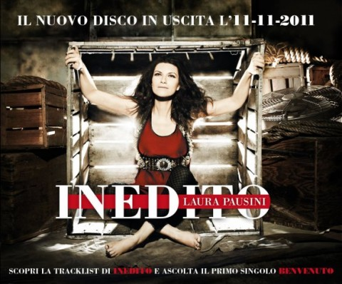 Laura Pausini Inedito Copertina Album
