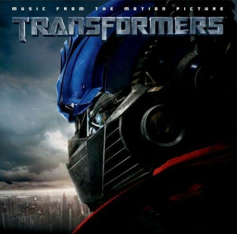 transformers copertina cd
