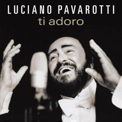 luciano pavarotti ti adoro copertina album