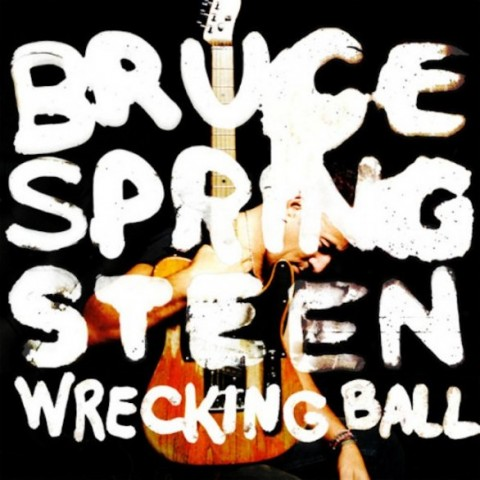 Bruce Springsteen wrecking ball cd cover