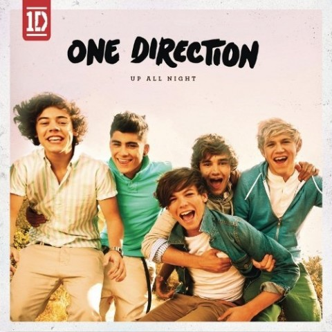 one direction up all night copertina cd