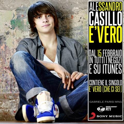 Alessandro Casillo E' Vero - copertina album