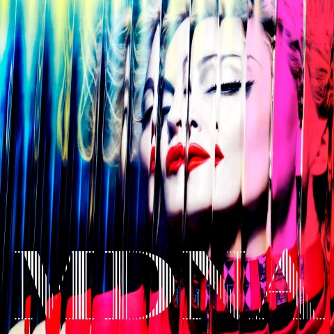Madonna MDNA copertina album