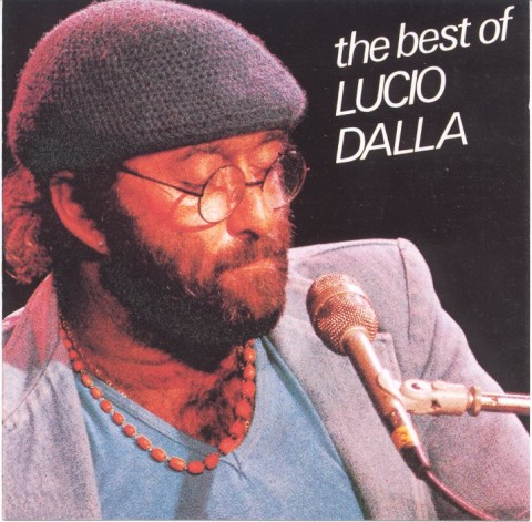 Lucio Dalla The Best Of... copertina disco