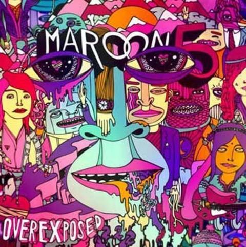 Maroon 5 Overexposed copertina album 2012