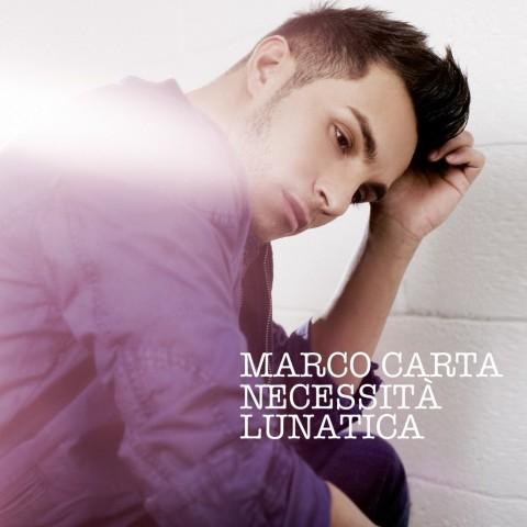 Marco Carta - Necessità Lunatica copertina album