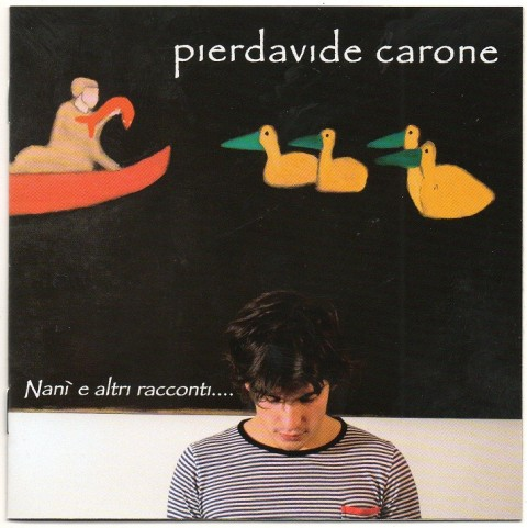 Pierdavide Carone Nanì e altri racconti cd cover front