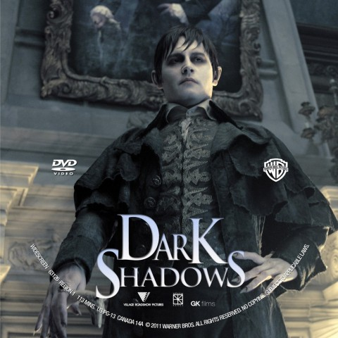 dark shadows tim burton copertina disco