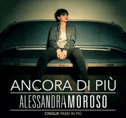 Alessandra Amoroso Ancora di più cinque passi in più copertina cd