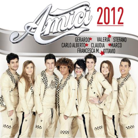 Amici Maria de Filippi 2012 copertina disco