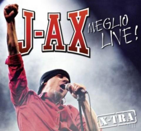 j-ax Meglio Live! copertina disco