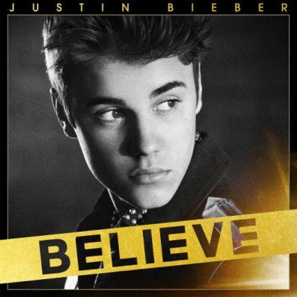 Justin Bieber - Believe copertina album