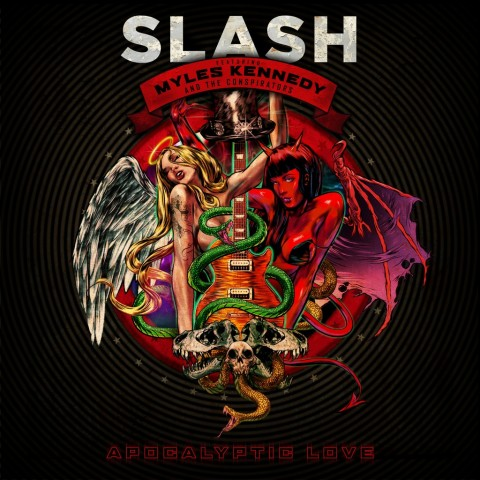 slash apocalyptic love copertina album