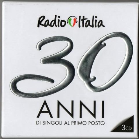 Radio Italia 30 anni di singoli al primo posto copertina disco