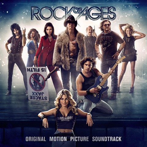 Rock of ages colonna sonora copertina disco