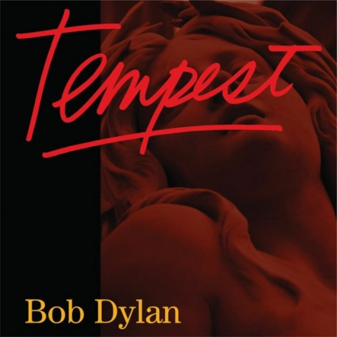 Bob Dylan Tempest copertina cd artcover 2012