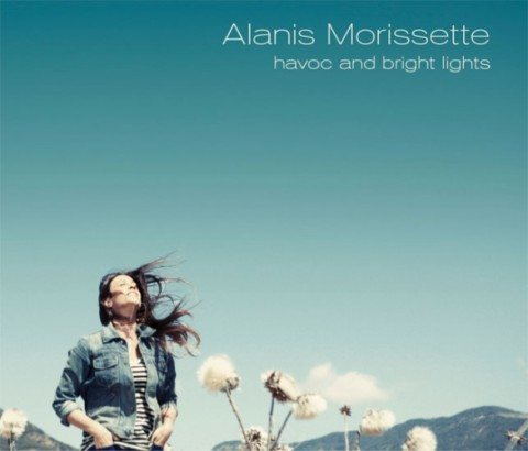 Alanis Morissette - Havoc and Bright Lights - copertina album artwork