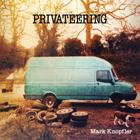 Mark Knopfler – Privateering copertina cd artwork