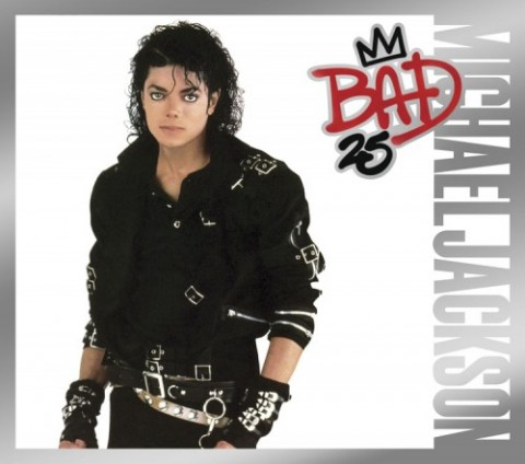 Michael Jackson – Bad 25th Anniversary Edition cd dvd cover artwork