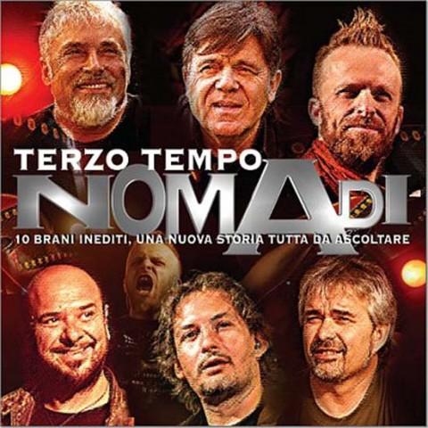 Nomadi - terzo tempo -  copertina album artwork