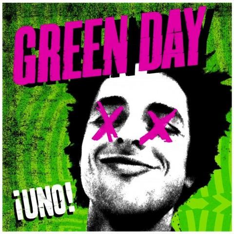 Green Day - ¡Uno! - copertina album artwork