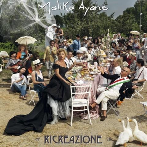 Malika Ayane Ricreazione copertina album artwork