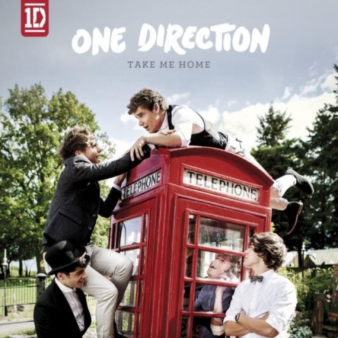 One direction take me home copertina album artwork