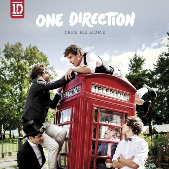One direction – Take Me Home – CD Cover e Tracklist – M&B ...